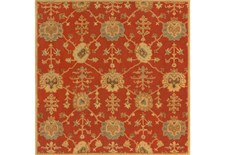 72X72 Square Rug-Callaby Red