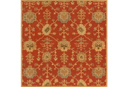 96X96 Square Rug-Callaby Red