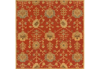 8'x8' Square Rug-Callaby Red