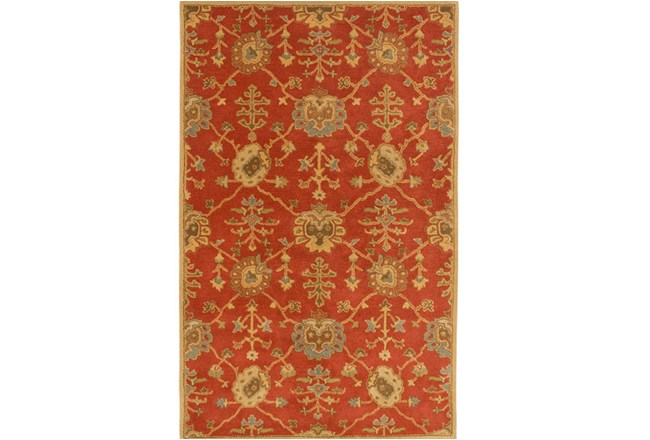 108X144 Rug-Callaby Red - 360