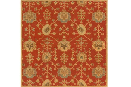 117X117 Square Rug-Callaby Red