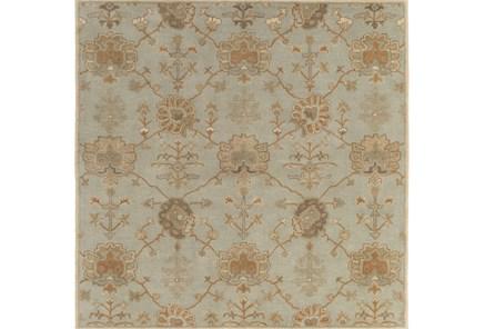 72X72 Square Rug-Roman Moss
