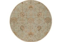 117 Inch Round Rug-Roman Moss