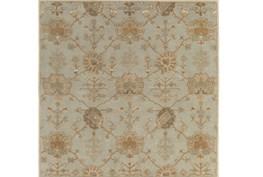 117X117 Square Rug-Roman Moss