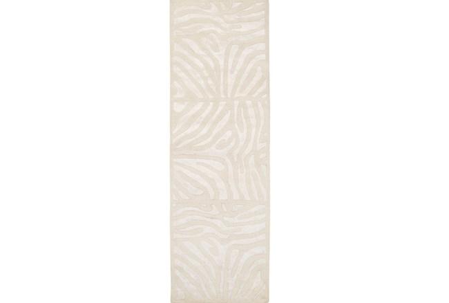 30X96 Rug-Favi Ivory - 360