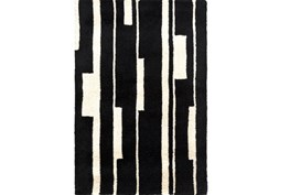 24X36 Rug-Klavier Black/White