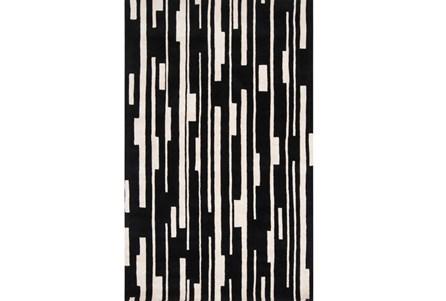 60X96 Rug-Klavier Black/White