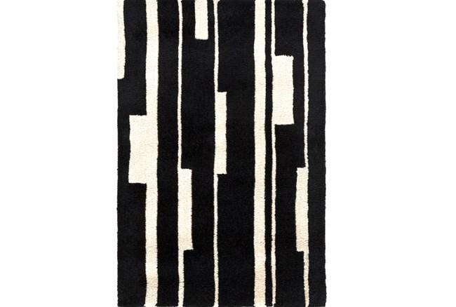 96X132 Rug-Klavier Black/White - 360
