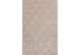 24X36 Rug-Blume Taupe/Ivory