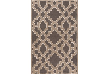 60X96 Rug-Temple Charcoal