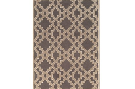 96X132 Rug-Temple Charcoal