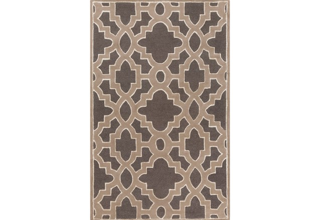 108X156 Rug-Temple Charcoal - 360