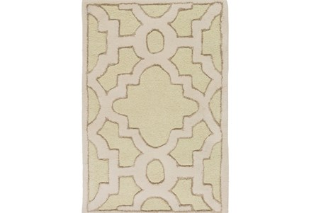 24X36 Rug-Temple Seafoam/Light Grey