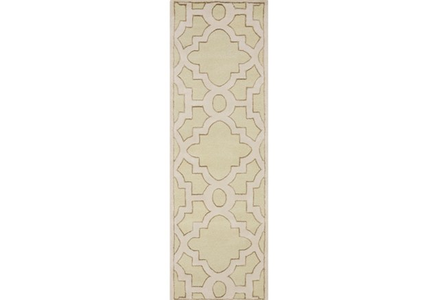 30X96 Rug-Temple Seafoam/Light Grey - 360