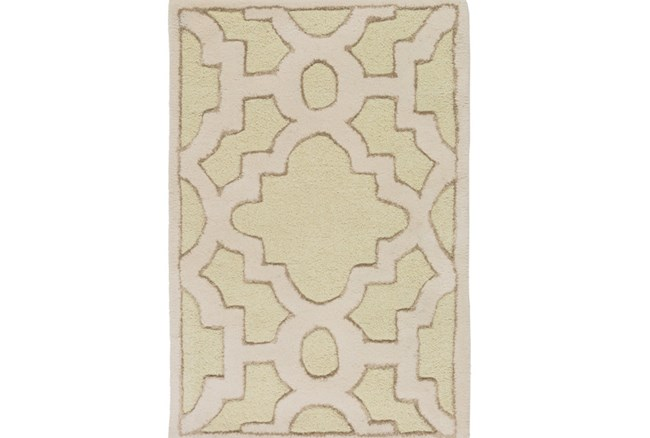 39X63 Rug-Temple Seafoam/Light Grey - 360