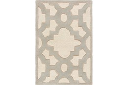 24X36 Rug-Temple Ivory/Grey