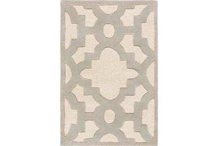 24X36 Rug-Temple Ivory/Grey