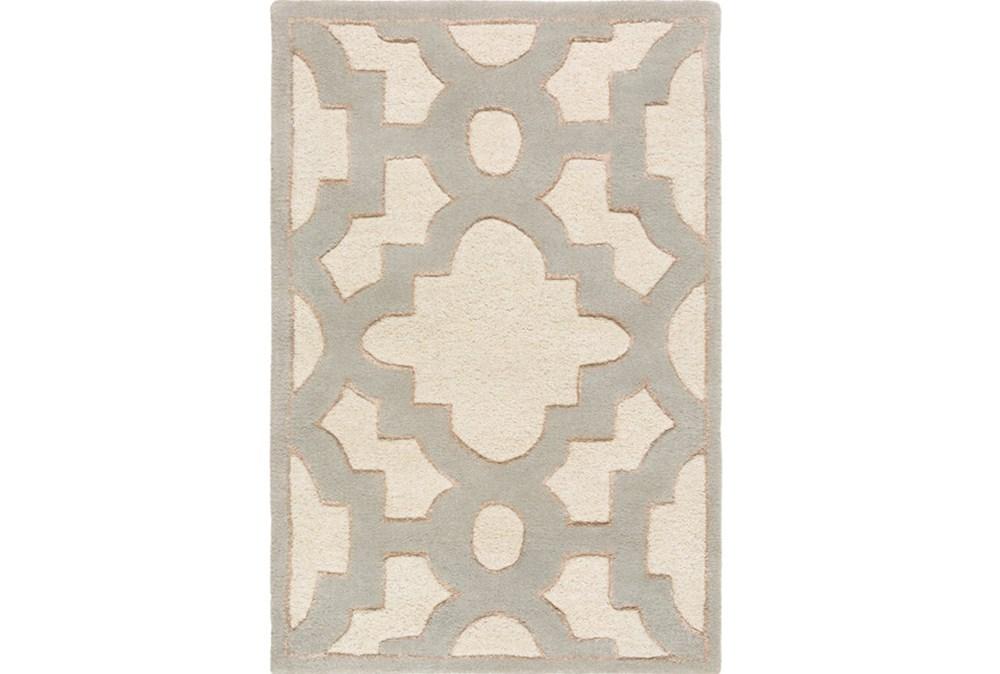39X63 Rug-Temple Ivory/Grey