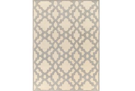 96X132 Rug-Temple Ivory/Grey