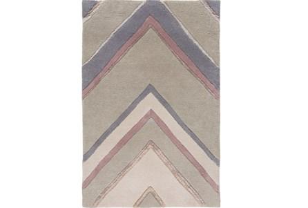 108X156 Rug-Punto Grey/Mauve