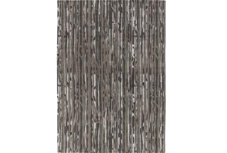 108X156 Rug-Regen Charcoal