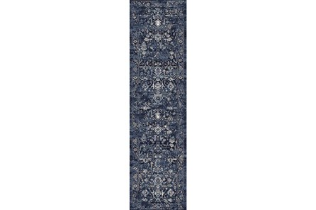26X94 Runner Rug-Courtney Indigo - Main