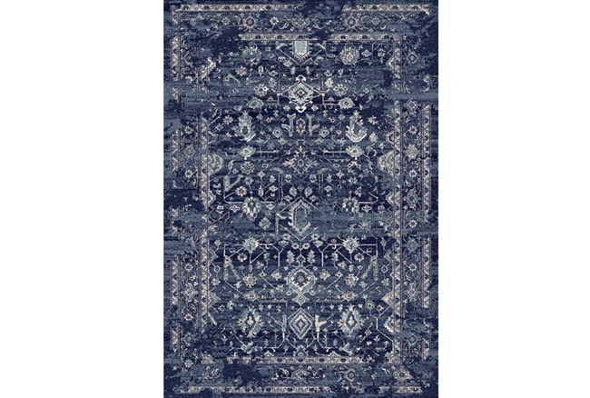63X91 Rug-Courtney Indigo - 360