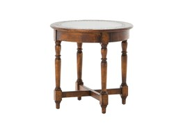 Silvia Round End Table