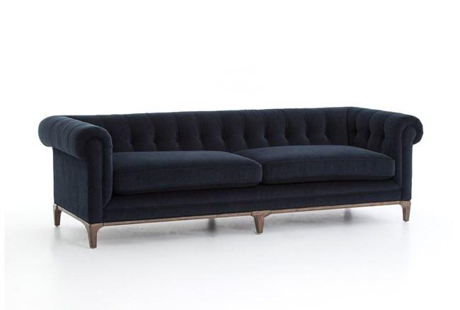 Melanie Navy Sofa - 360