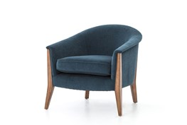 Natalie Azure Lounge Chair
