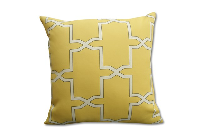 Outdoor Accent Pillow-Crete Yellow 18X18 - 360