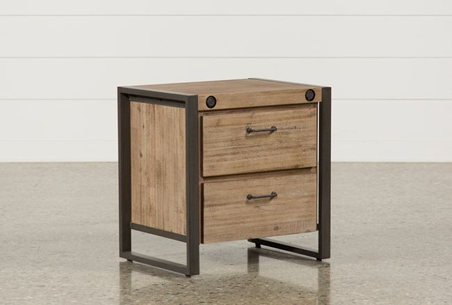 Whistler 2-Drawer Nightstand - 360