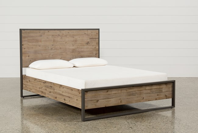 Whistler California King Platform Bed - 360