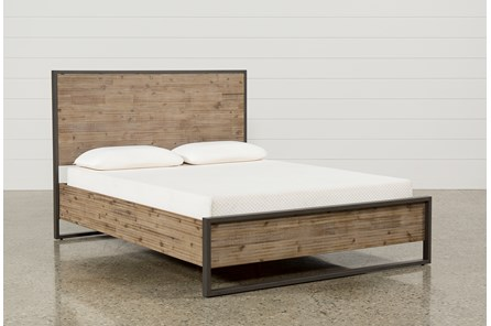 Whistler Queen Platform Bed - Main