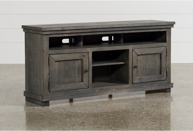 Sinclair Grey 64 Inch TV Stand - 360