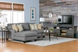 Sinclair Grey 64 Inch TV Stand - Room
