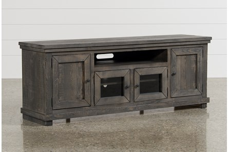 Sinclair Grey 74 Inch TV Stand - Main