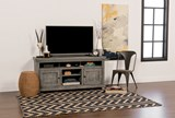 Sinclair Blue 54 Inch TV Stand - Room