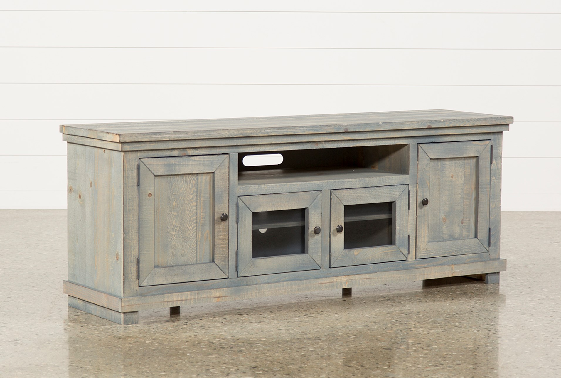 Sinclair Blue 74 Inch Tv Stand Qty 1 Has Been Successfully Added To Your Cart