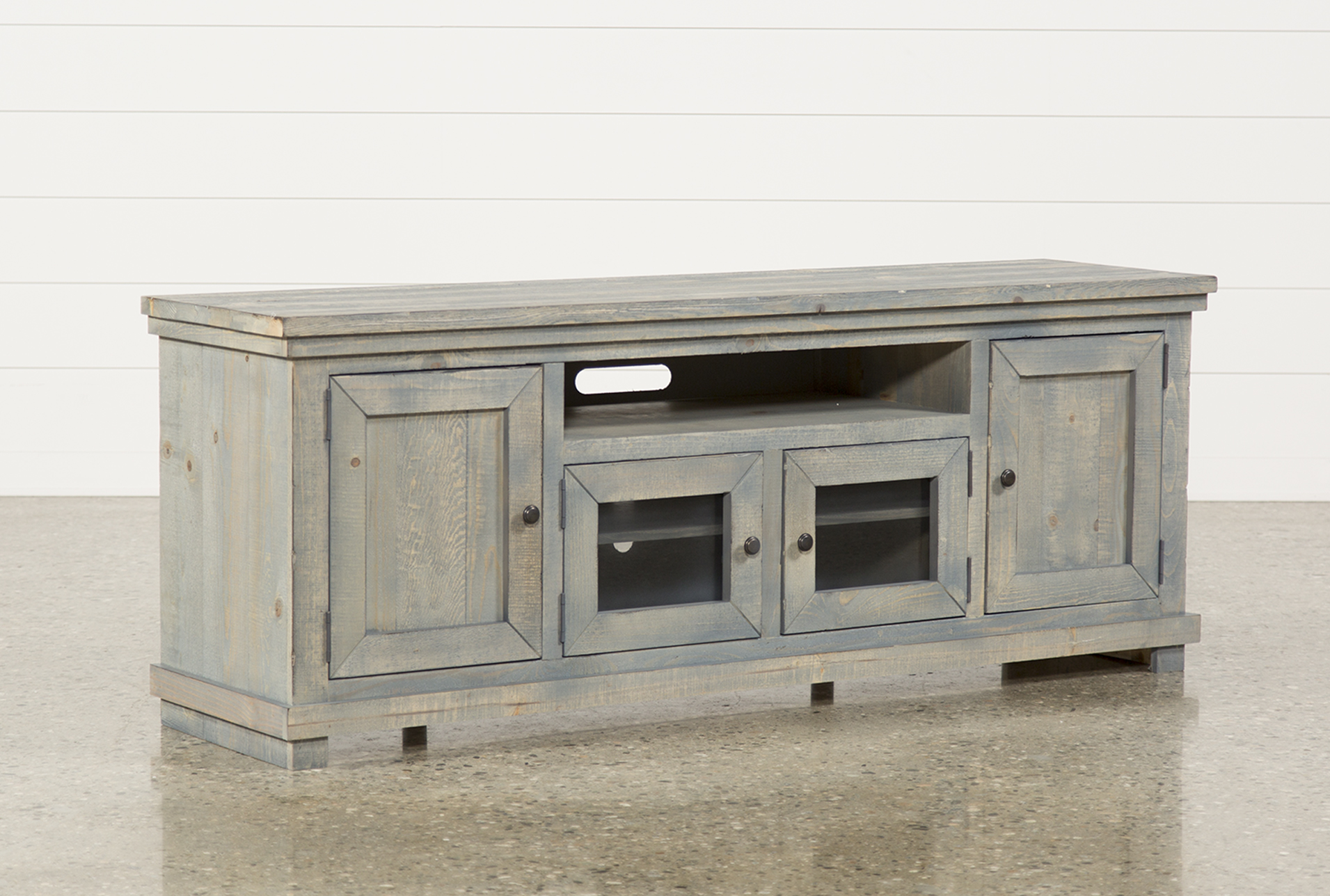 Attirant Display Product Reviews For SINCLAIR BLUE 74 INCH TV STAND