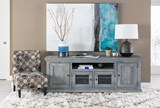 Sinclair Blue 74 Inch TV Stand - Room