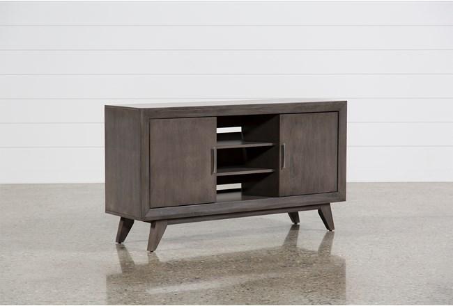 Abbott Driftwood 60 Inch TV Stand - 360
