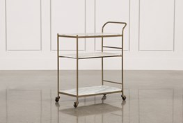 Gabon Bar Cart