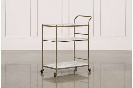 Gabon Bar Cart - Main
