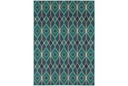 27X90 Rug-Tulum Turquoise