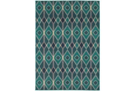 46X65 Rug-Tulum Turquoise