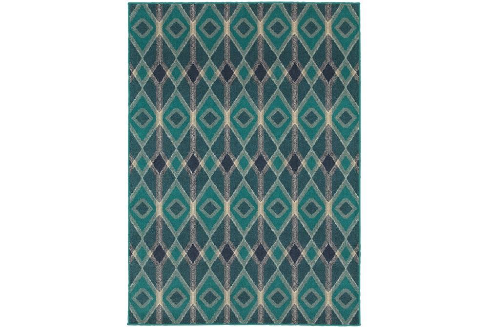 79X114 Rug-Tulum Turquoise