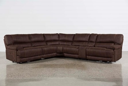 Marx Kahlua 6 Piece Power Reclining Sectional