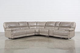 Marx Sahara 6 Piece Power Reclining Sectional