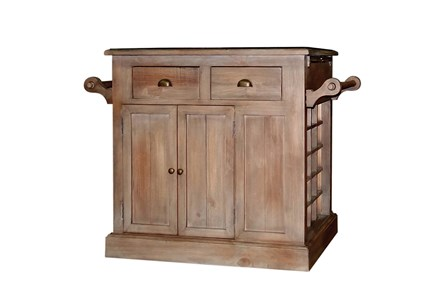 Timber Kitchen Island - Main
